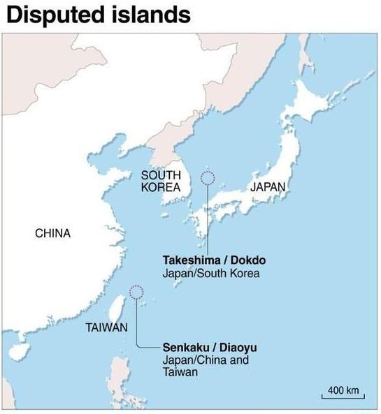 adalar sorunu hakkında harita